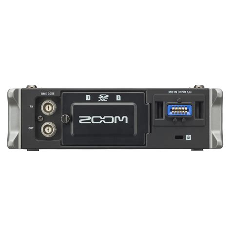 zoom sound f4 multitrack field recorder zoom