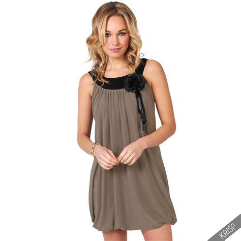 swing mode 20er damen tunika mit anstecker mini kleid tr 228 gerkleid 20er