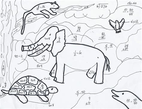 math coloring sheets math coloring pages 7 coloring