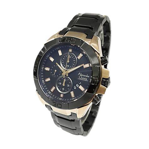 Jam Tangan Pria Alexandre Christie Ac6455mc Black jual alexandre christie 6224mcbbrba black jam tangan pria harga kualitas terjamin