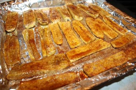 roasted sweet plantains with cream and cinnamon recipe dishmaps