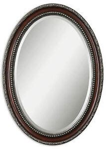 Uttermost Mirrors Oval by Montrose Traditional Oval Wall Mirror By Uttermost 14196