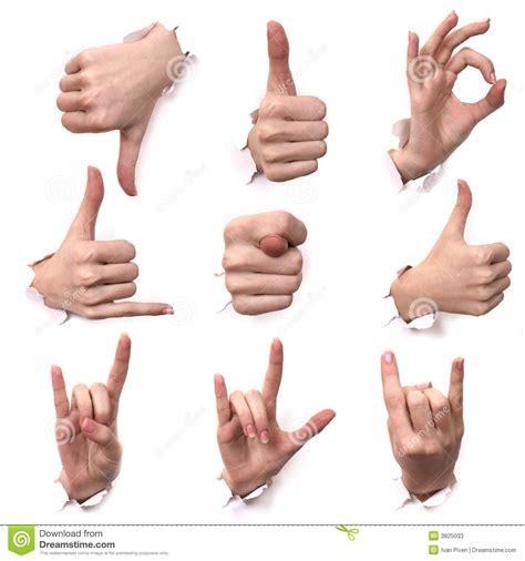 imagenes gesto ok gesti delle mani fotografie stock immagine 3825033