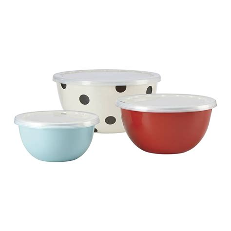 Set Of 3 Food Container buy kate spade new york deco dot food containers set of