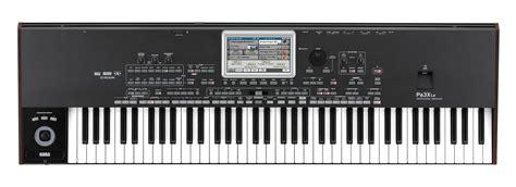 Keyboard Korg Pa3x Le Pa3x Le Korg Pa3x Le Audiofanzine