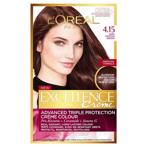 L Oreal Excellence Creme buy excellence cr 232 me 4 15 frosted brown 1 pack by l