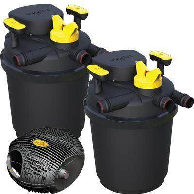 laguna clearflo  pond pump filter set pump