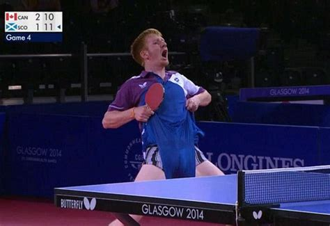 silver extreme ping pong table glasgow 2014 gossip gavin rumgay insists wedgie was
