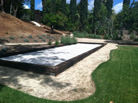 bocce court san diego bocce court by ecominded solutions modern