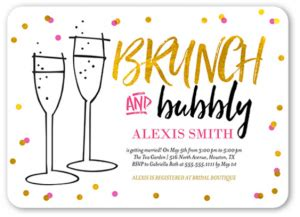 Pretty Bridal Shower Invitation Templates Theme Inspiration Birthday Brunch Invitation Template