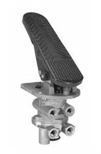 Air Brake System Foot Valve Bendix 800629 E 8p Dual Circuit Foot Air Brake Valve New