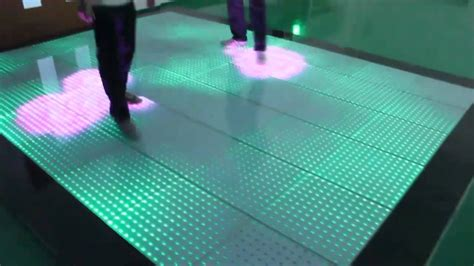 Interactive Floor by Seekway Led Interactive Floor Ia06