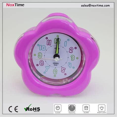 flower shaped alarm clock  table