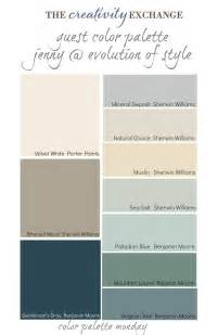 Cool Living Room readers favorite paint colors color palette monday