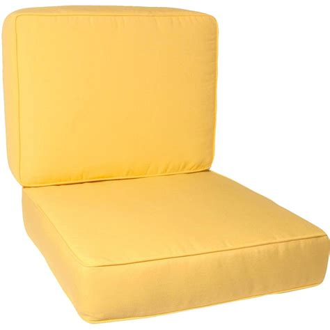Yellow Outdoor Furniture Replacement Cushions : Ultimate Patio