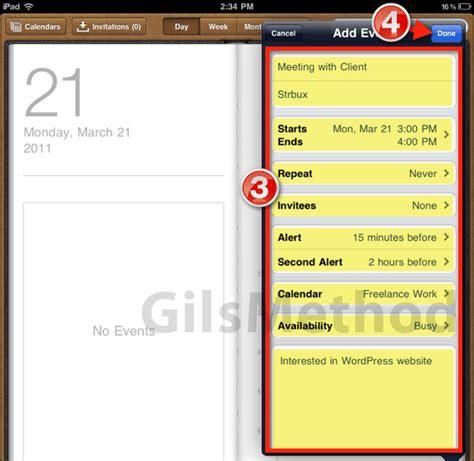 Calendar Entry How To Create A New Calendar Entry On The