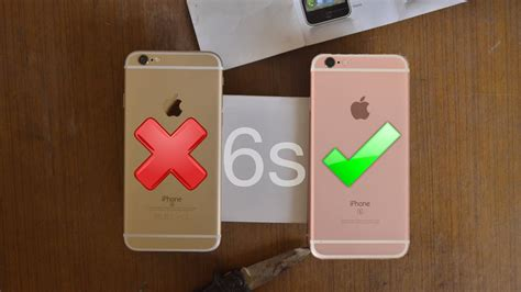 Iphone 6 Dan 6s real vs iphone 6s clone how to spot
