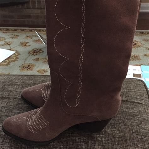57 reba shoes reba suede boots from s closet