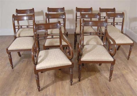 Regency Dining Table And Chairs Regency Dining Set Table Chairs Mahogany Suite