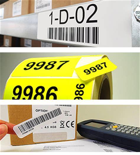 Etiketten Drucken Fortlaufender Nummerierung by Nummerierte Etiketten Auf Rollen Fortlaufende