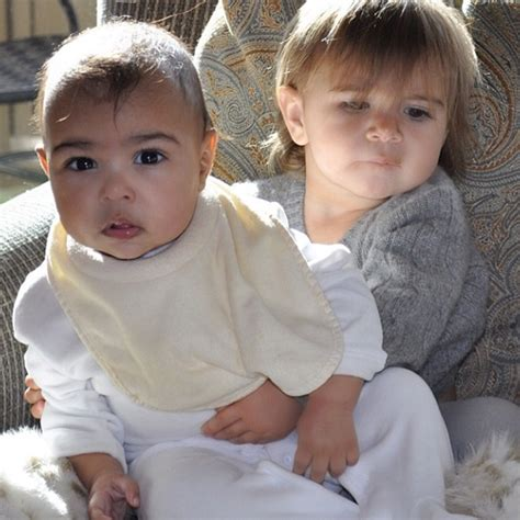 Khlo 233 kardashian shares snapshot of north west modelling kardashian kids clothing photo 3
