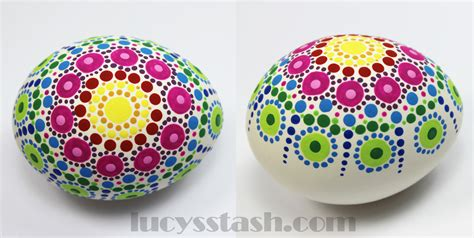 decorative eggs dotted rainbow easter egg 183 how to make a decorative egg