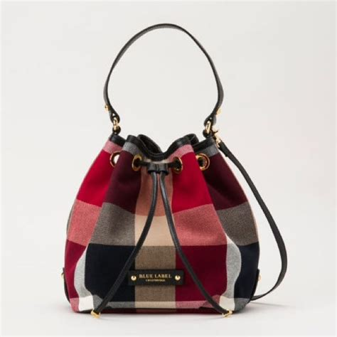 Burberry Blue Label burberry blue label crestbridge check bag luxury
