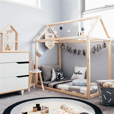 toddler house bed frame howe and zo
