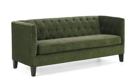Armen Living Melrose Sofa Set Green Chenille Lc8433gr Set