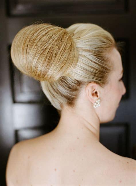 classic hairstyles buns classic wedding hair buns