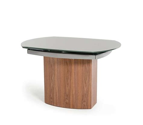 Modern Dining Table Base Modern Extendable Walnut Base Dining Table Vg137 Modern Dining