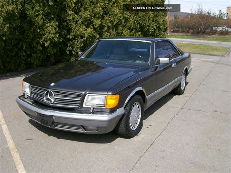 1987 mercedes 560 sec