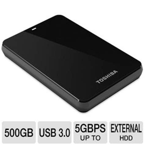 Hdd External Toshiba Canvio 500gb toshiba hdtc605xk3a1 canvio 3 0 portable drive 500gb usb 3 0 up to 5gbps at tigerdirect