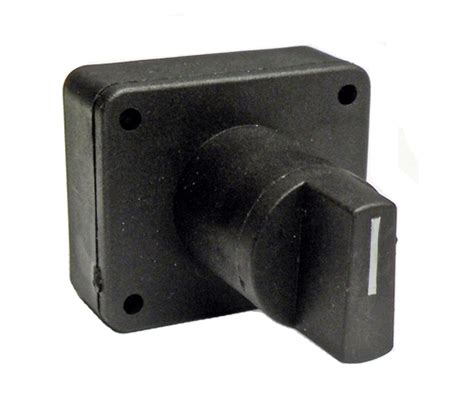 Selector Onoff 0499000089 Schumacher Selector Switch On Black Knob