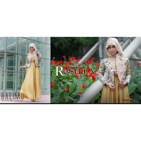 Cardi Coksu rosella coksu c p baju muslim gamis modern