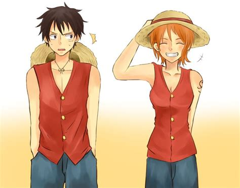 luffy and nami luffy 215 nami op monkey and search