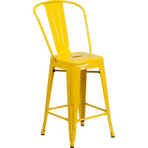 24 high counter stools 24 high yellow metal indoor outdoor counter height stool