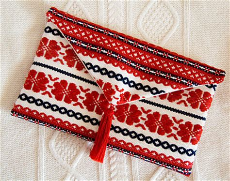 Handmade Clutches Pattern - craftionary
