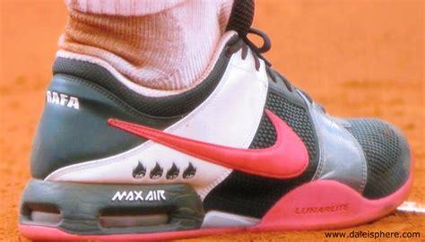 nadal s designer tennis shoes open 2009 daleisphere