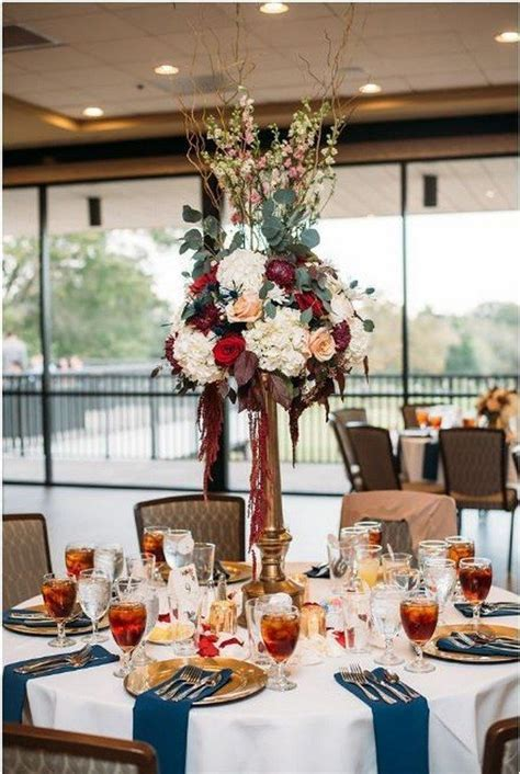 25 Burgundy and Navy Wedding Color Ideas   Wedding