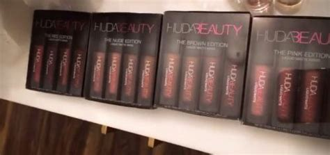 Huda Mini Edition Brown Edition huda liquid matte minis brown edition rys malaysia