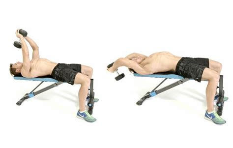 bench dumbbell pullover dumbbell pullover nasıl yapılır fitness beast