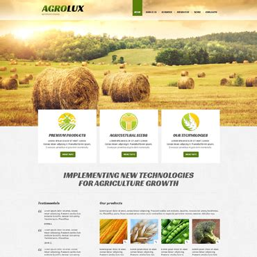 agriculture themes html agriculture responsive joomla template 48672