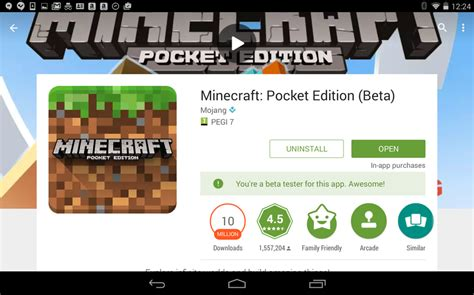 full version of minecraft on android how to play the mincraft pocket edition beta right now
