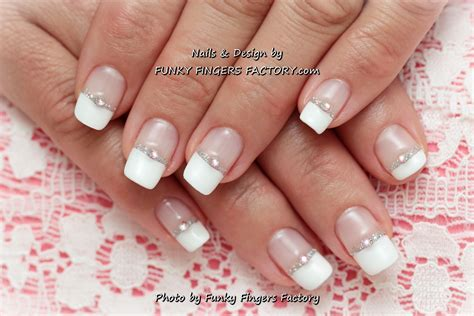 Wedding Manicure by Gelish Wedding Nails Funky Fingers Factory