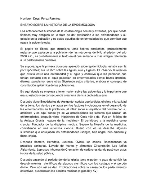historia de roma ensayo historia ensayo sobre la historia de le epidemiologia