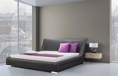 calyx modern bed with curved headboard modern king size bed frames modern king size bed frames