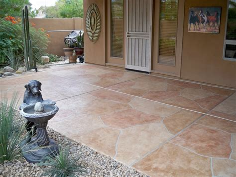 Patio Surfaces Options by Flagstone Patio Coatings Az Creative Surfaces 480 582 9191