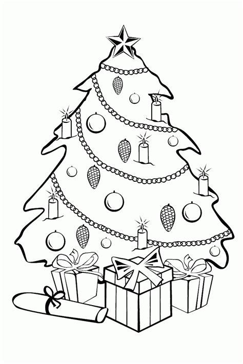 juegos de colorear arboles de navidad dibujos de 193 rboles de navidad para colorear e imprimir