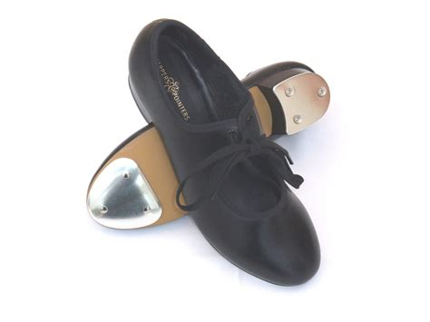 shoe taps black pu tap shoes with fitted taps dancewear universe